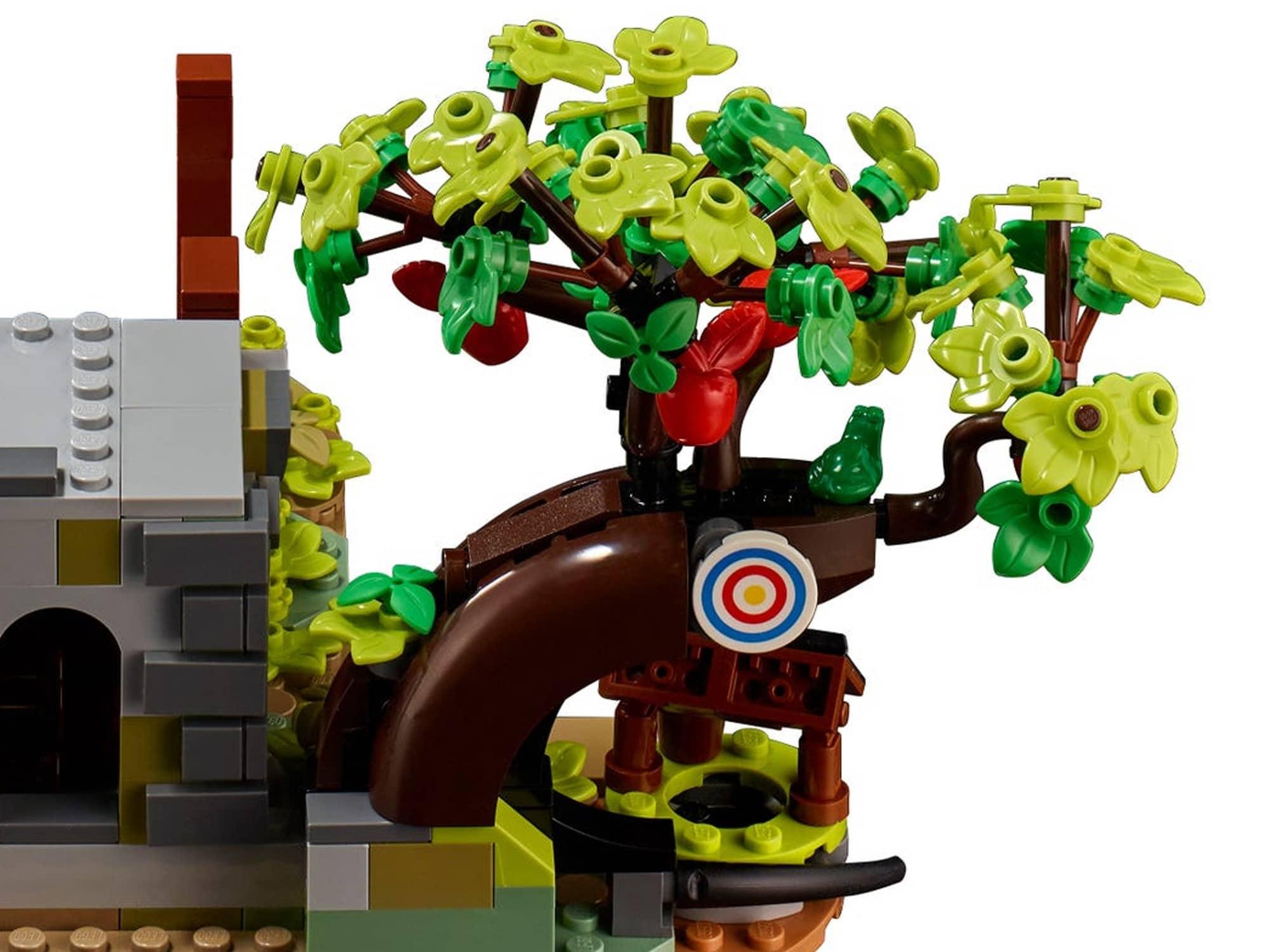LEGO Ideas 21325 Mittelalterliche Schmiede Detail 1