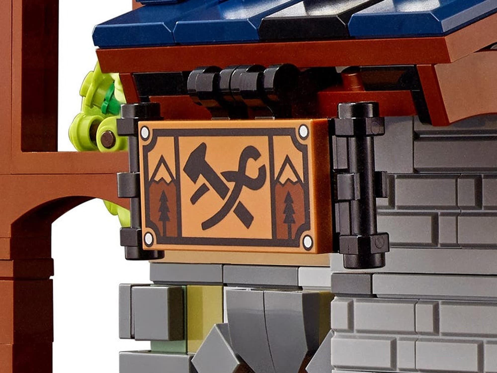 LEGO Ideas 21325 Mittelalterliche Schmiede Detail 2