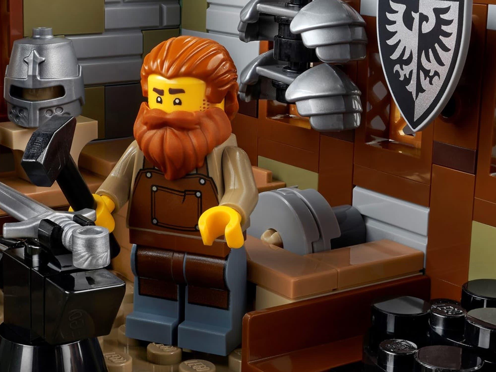 LEGO Ideas 21325 Mittelalterliche Schmiede Detail 3