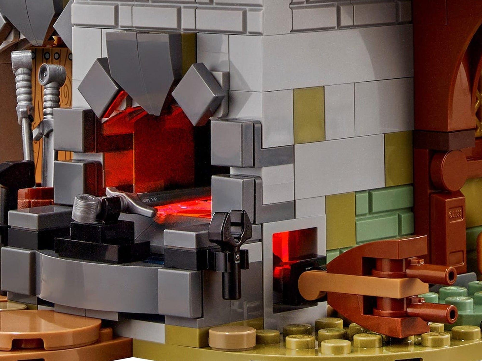 LEGO Ideas 21325 Mittelalterliche Schmiede Detail 4