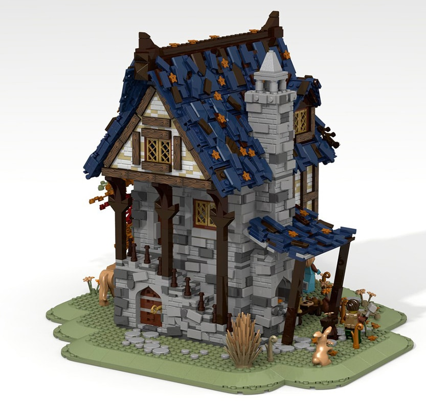 LEGO Ideas 21325 Mittelalterliche Schmiede Slider 1