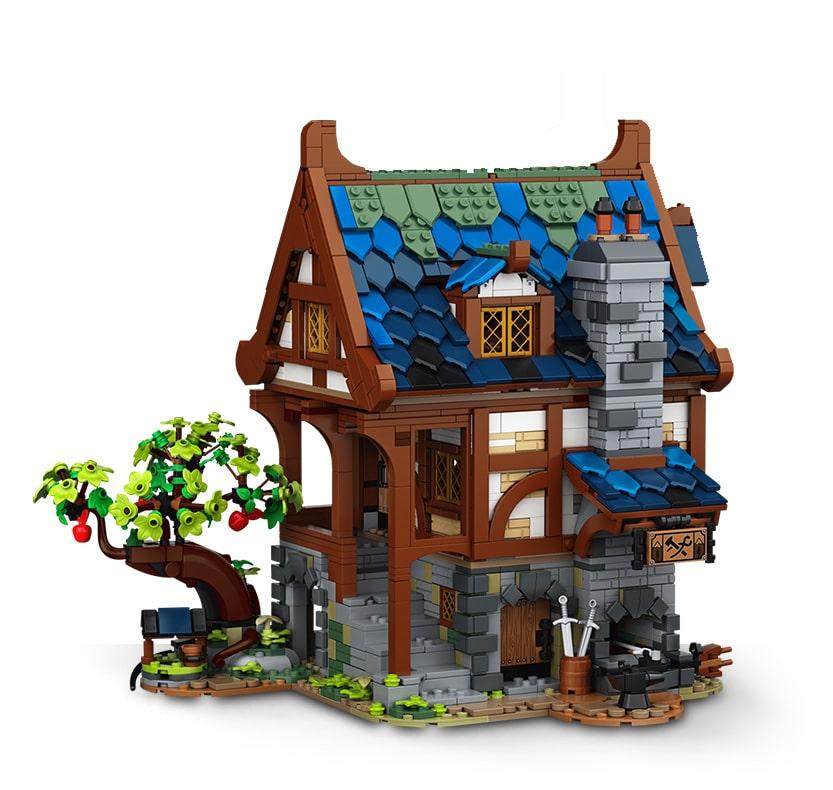 LEGO Ideas 21325 Mittelalterliche Schmiede Slider 2
