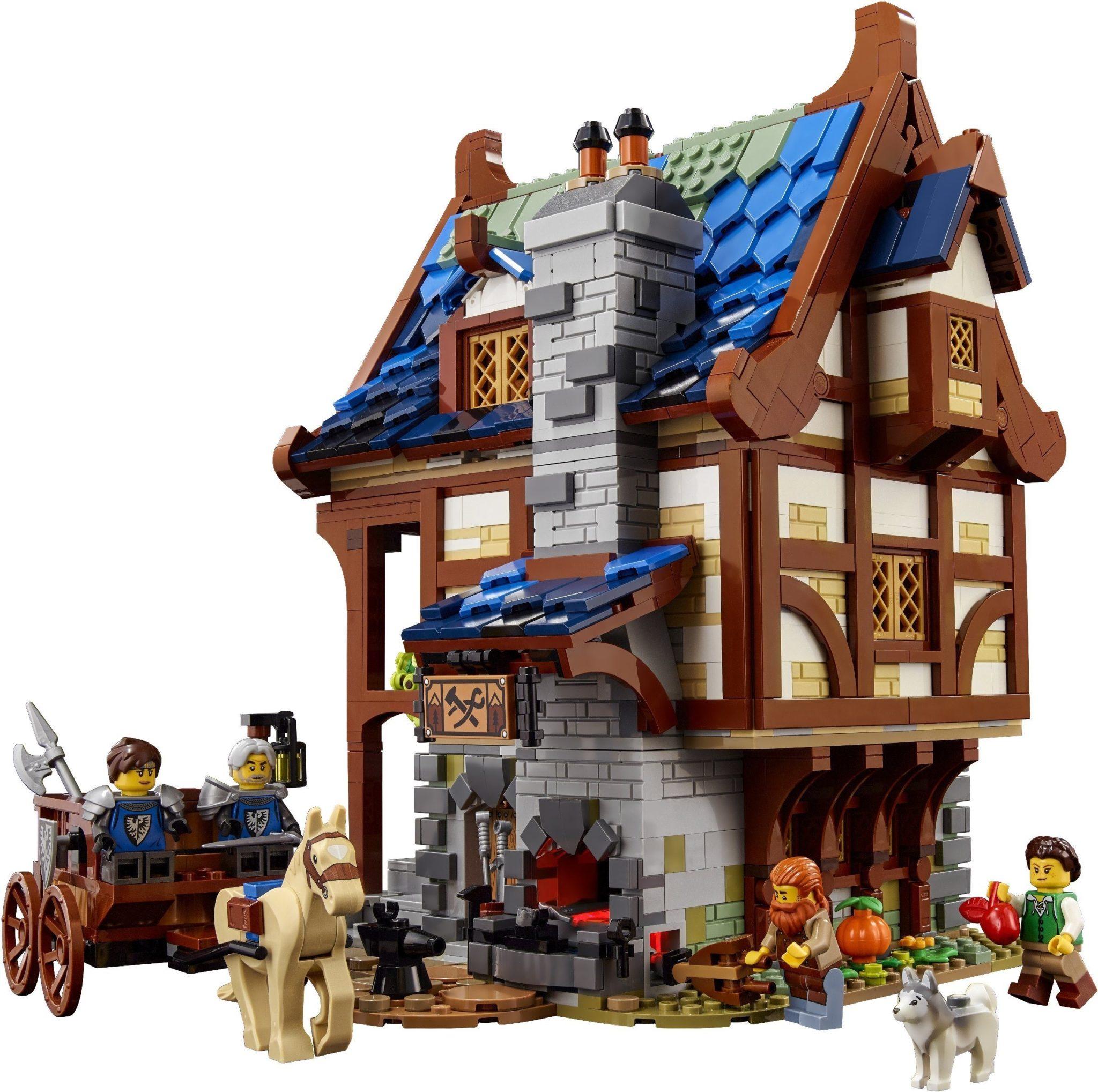 LEGO Ideas 21325 Mittelalterliche Schmiede 02