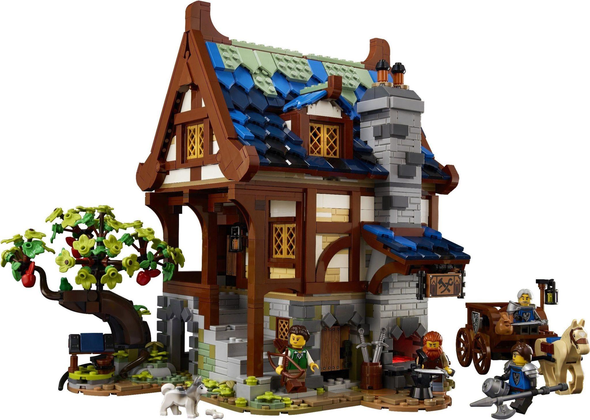 LEGO Ideas 21325 Mittelalterliche Schmiede 03