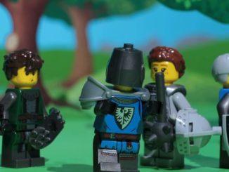 LEGO Ideas 21325 Teaser Zweite Minifigur Schild