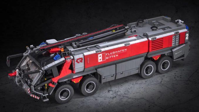 LEGO Ideas Airport Firetruck (1)
