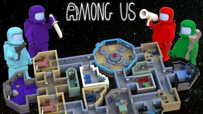 LEGO Ideas Among Us Skeld Map (1) 2