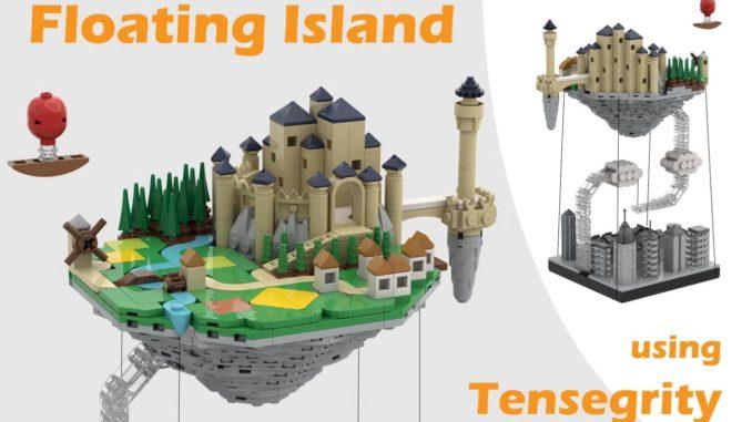 LEGO Ideas Floating Island (1)