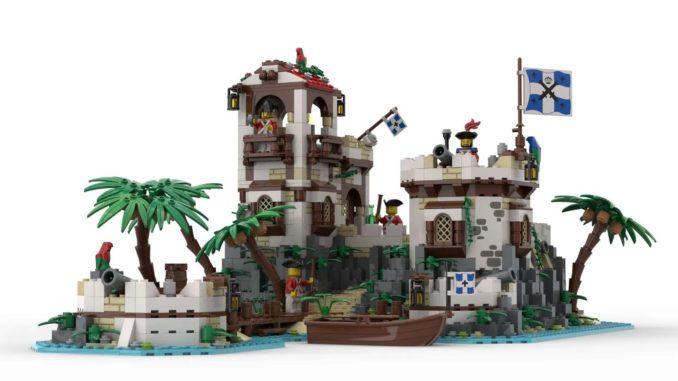 LEGO Ideas Imperial Island Fort (1)