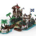 LEGO Ideas Imperial Island Fort (2)