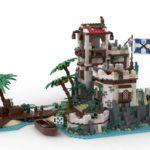 LEGO Ideas Imperial Island Fort (3)