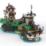 LEGO Ideas Imperial Island Fort (4)