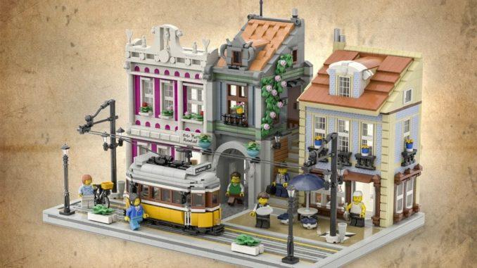 LEGO Ideas Lisbon Tram (1)