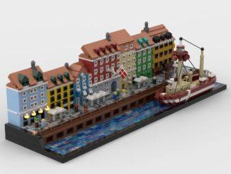 LEGO Ideas Nyhavn Copenhagen (1)