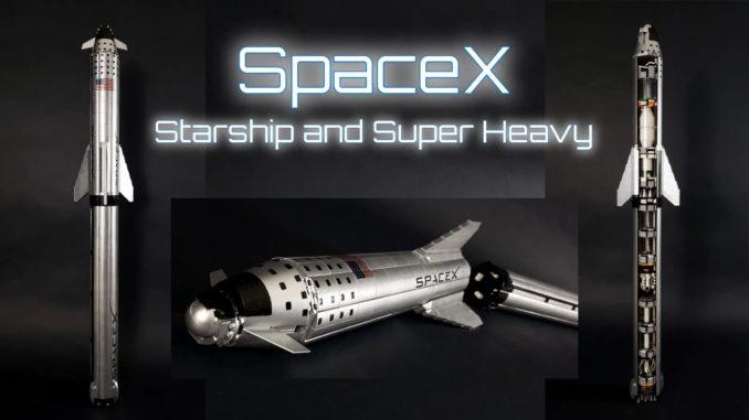 LEGO Ideas Spacex Starship (1)