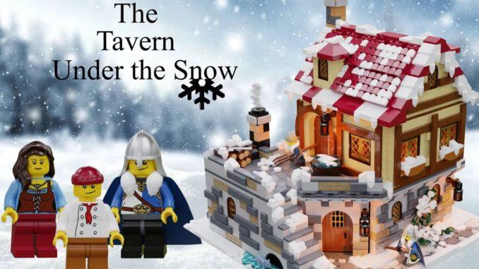 LEGO Ideas Tavern Under Snow (1)