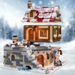 LEGO Ideas Tavern Under Snow (2)