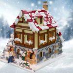 LEGO Ideas Tavern Under Snow (7)