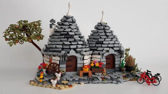 LEGO Ideas Trulli Of Alberobello (1)