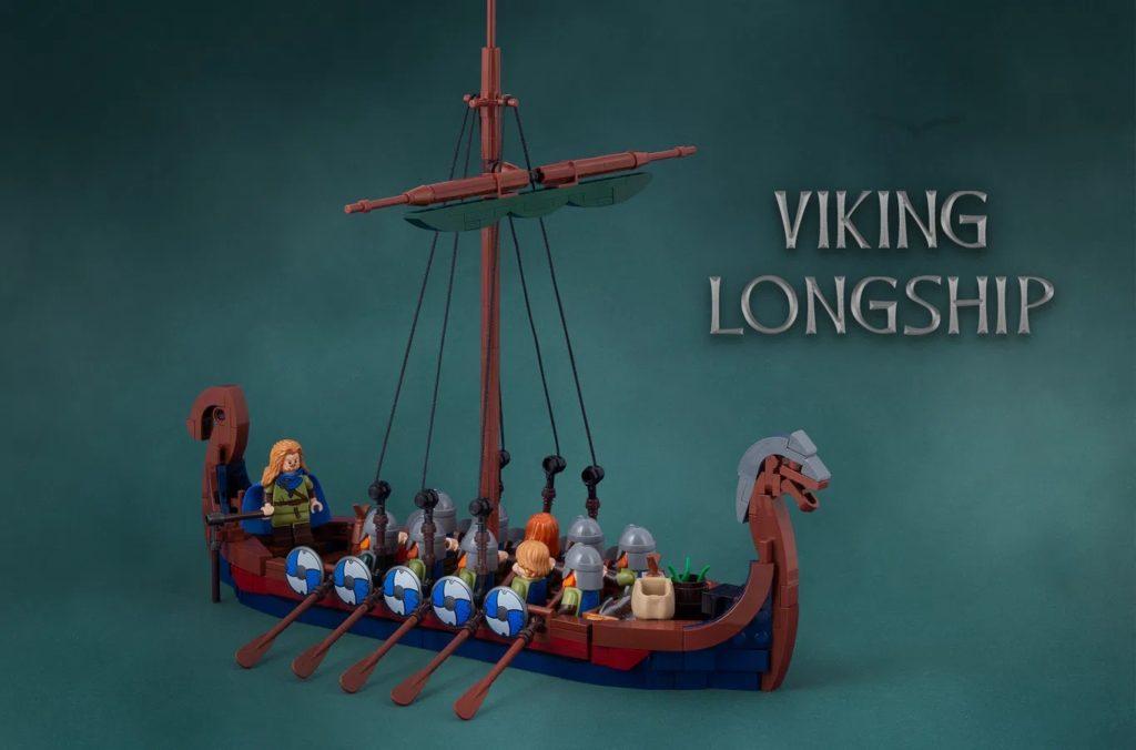 LEGO Ideas Viking Ship (1)