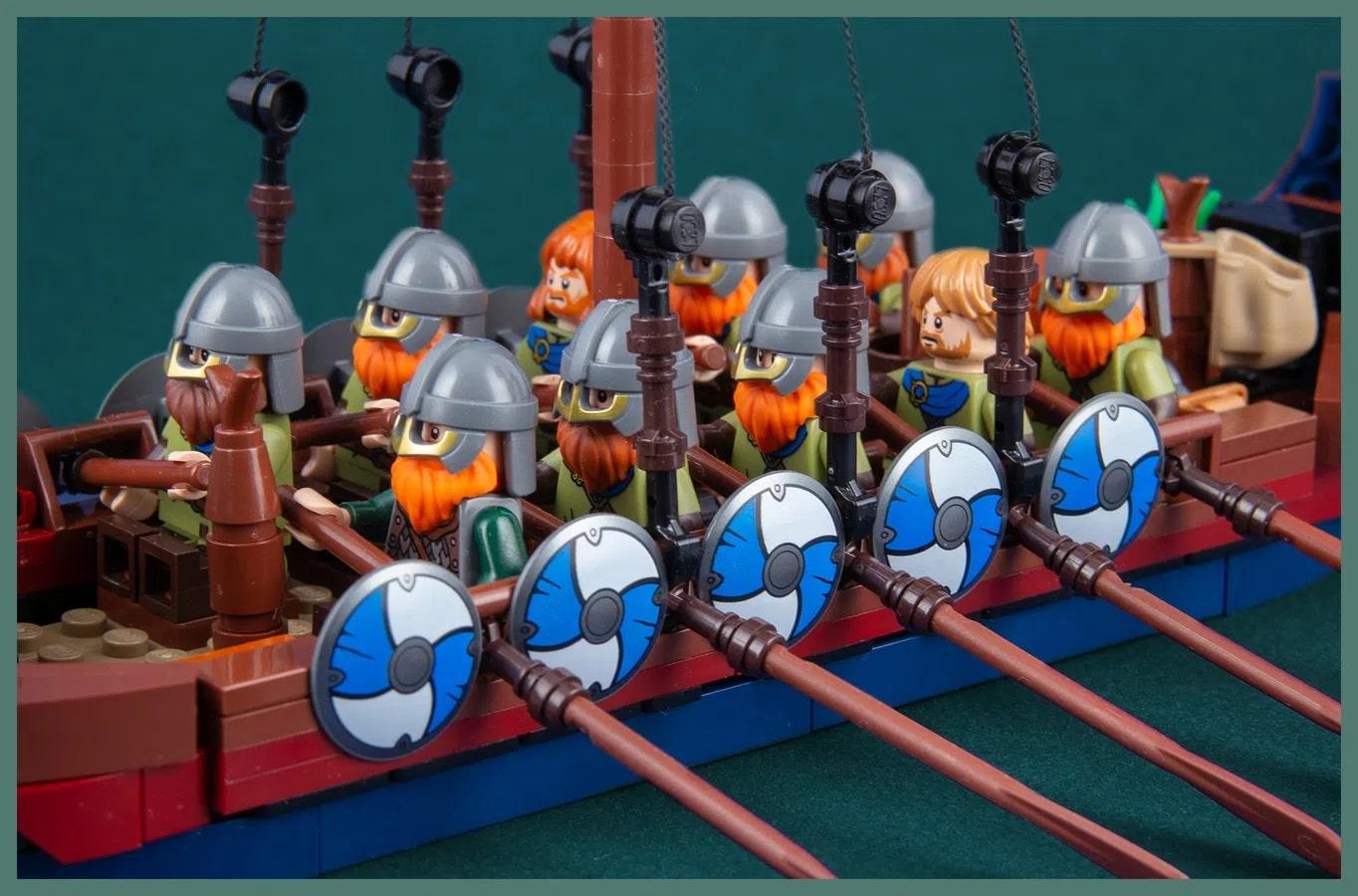LEGO Ideas Viking Ship (4)