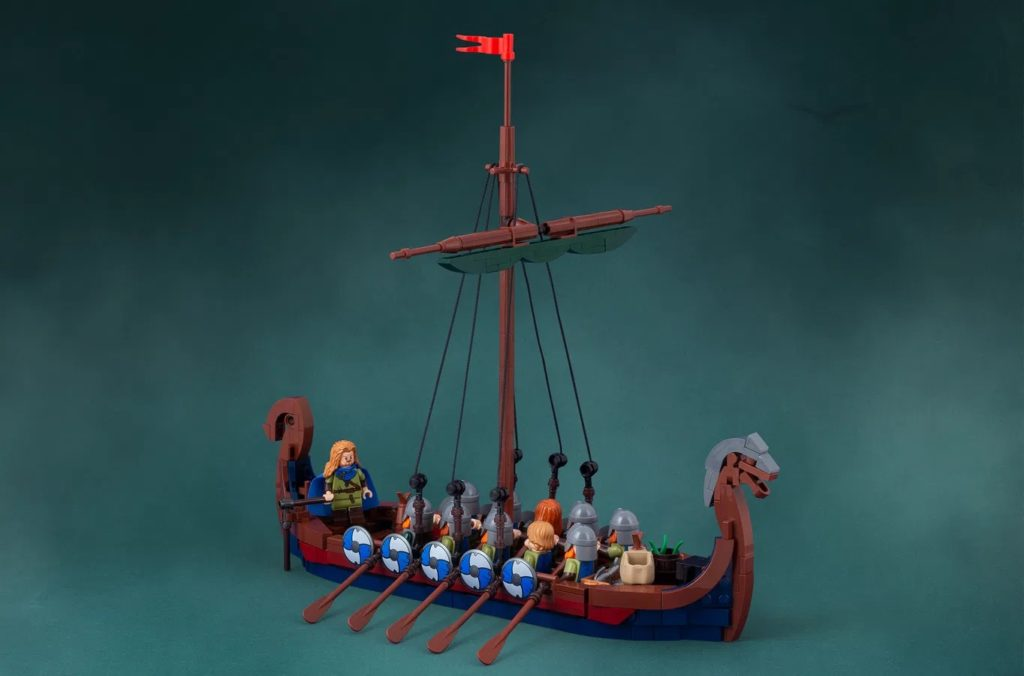 LEGO Ideas Viking Ship (8)