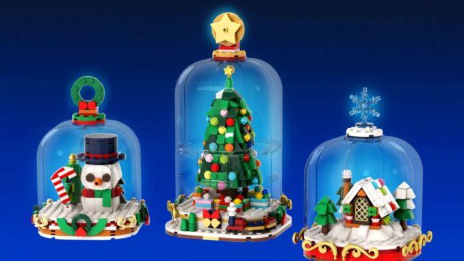 LEGO Ideas Winter Snow (1)