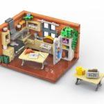 LEGO Küche Rendering Stonewars