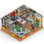 LEGO LEGOzimmer Rendering Stonewars