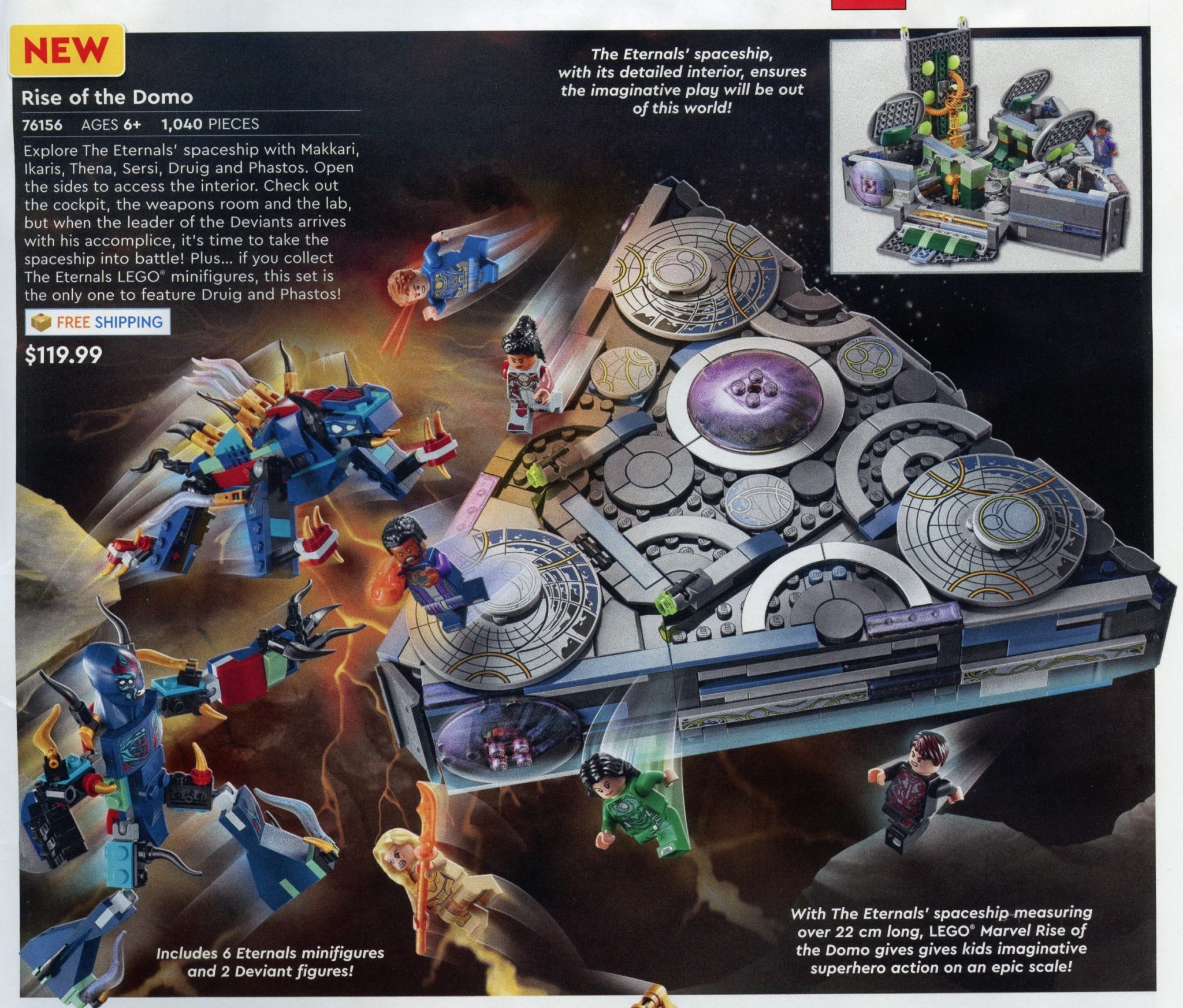 LEGO Marvel 76156 Eternals