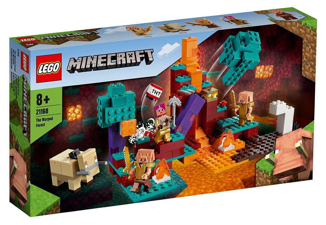 LEGO Minecraft 21168 Der Verschwundene Wald 10