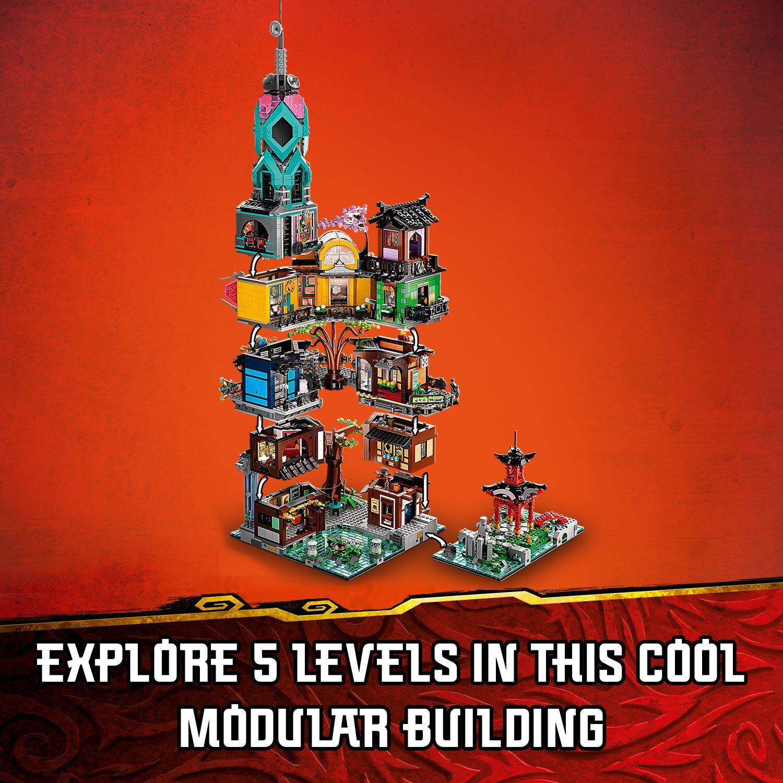 LEGO Ninjago 71741 Ninjago City Gardens 17