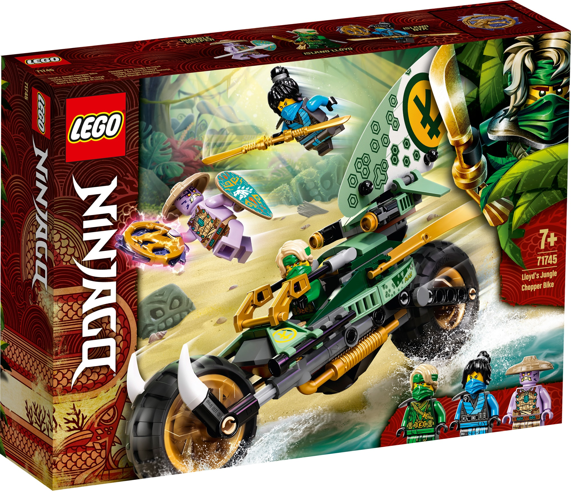 LEGO Ninjago 71745 Lloyds Dschungel Bike 2