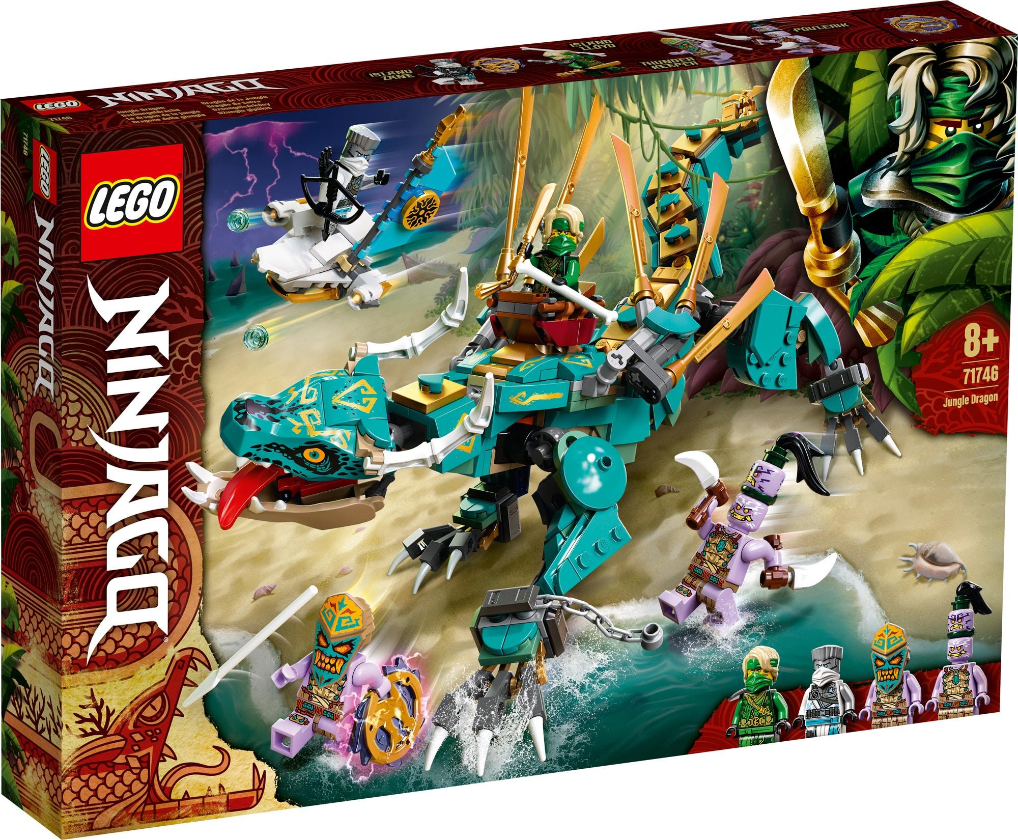 LEGO Ninjago 71746 Dschungel Drache 3