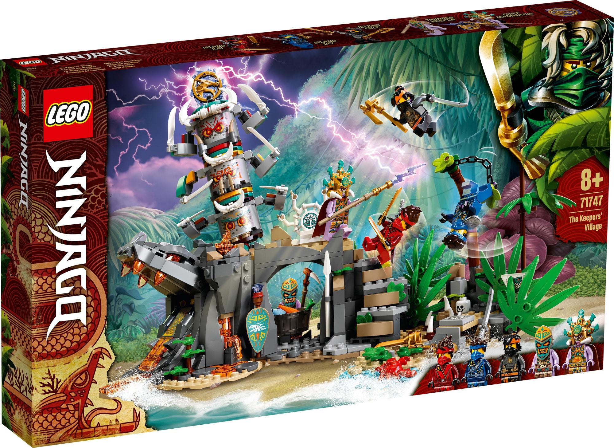 LEGO Ninjago 71747 Das Dorf Der Waechter 1
