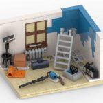 LEGO Renovierung Rendering Stonewars
