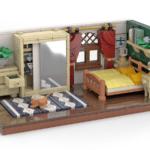 LEGO Schlafzimmer Rendering Stonewars