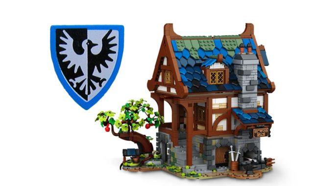 LEGO Schmiede 21325 Titel Falkenritter 02