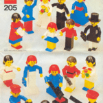 LEGO Set Homemaker Figuren 205