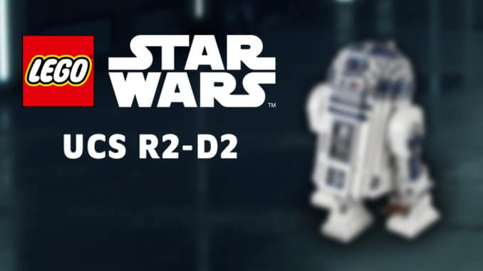 LEGO Star Wars 75308 Ucs R2 D2 Astromech May The Fourth Titelbild