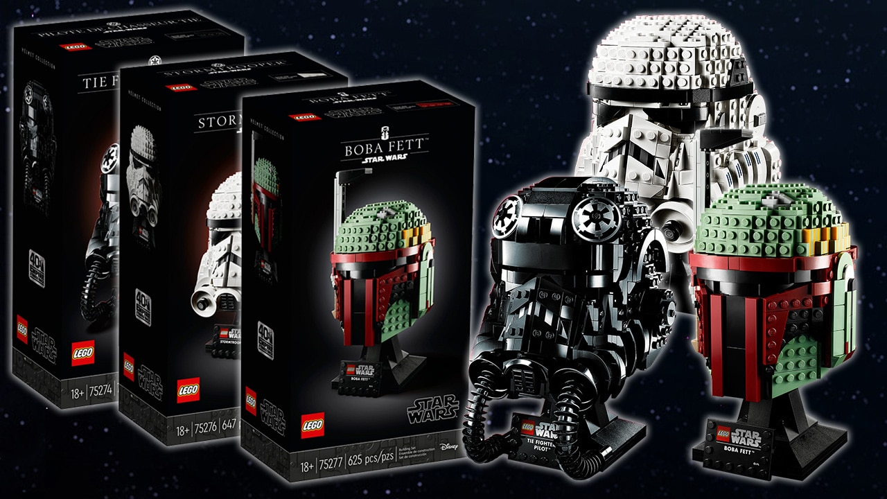 LEGO Star Wars Helmet Collection Header