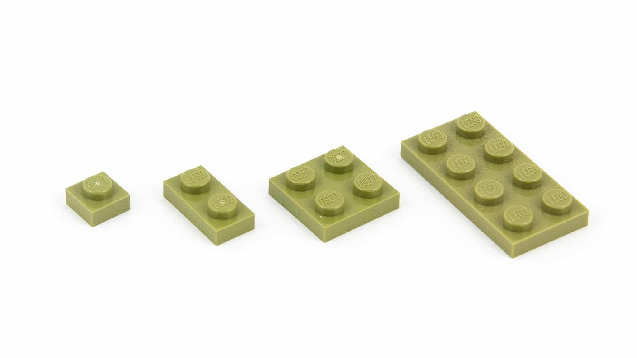 LEGO Steine Namen Plate