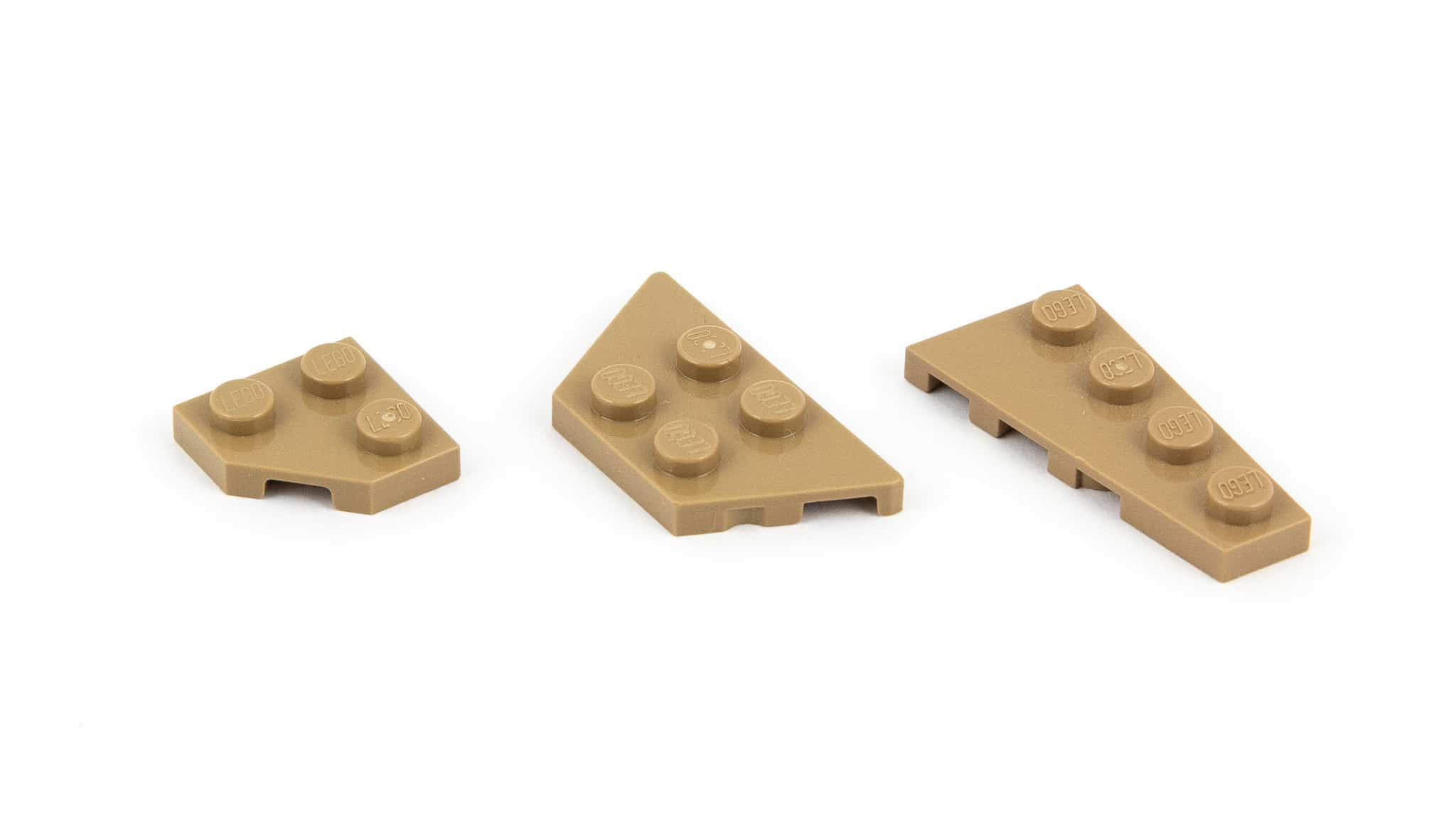 LEGO Steine Namen Wedge Plate
