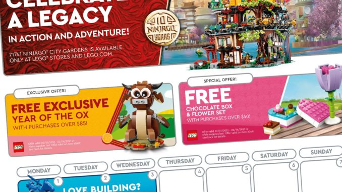 LEGO Store Flyer Februar 2021