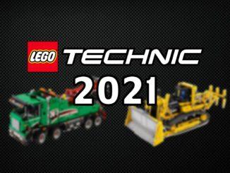 LEGO Technic Neuheiten 2021 Titel