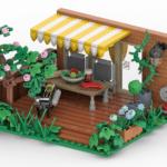 LEGO Terrasse Rendering Stonewars