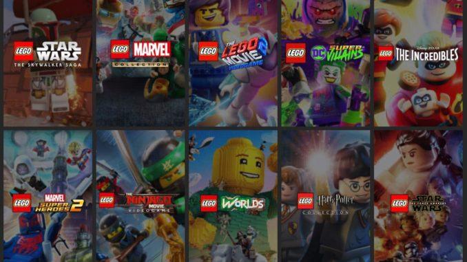 LEGO Videospiele Steam Sale Januar 2021