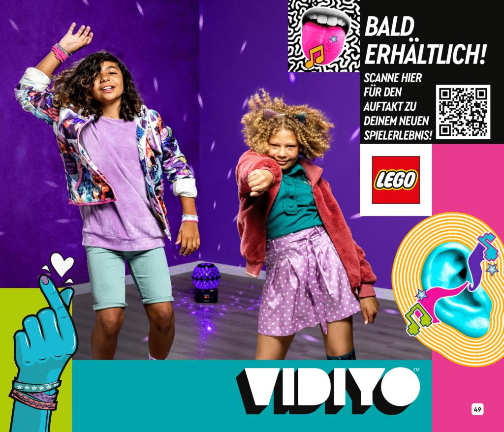 LEGO Vidiyo Teaser Katalog