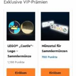 LEGO Vip Castle Münze Und Etui
