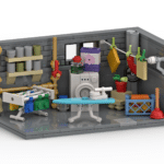 LEGO Waschkeller Rendering Stonewars